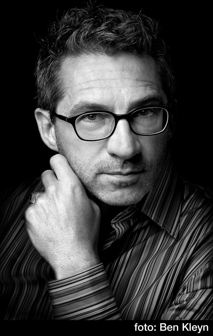 Presentator Frénk van der Linden
