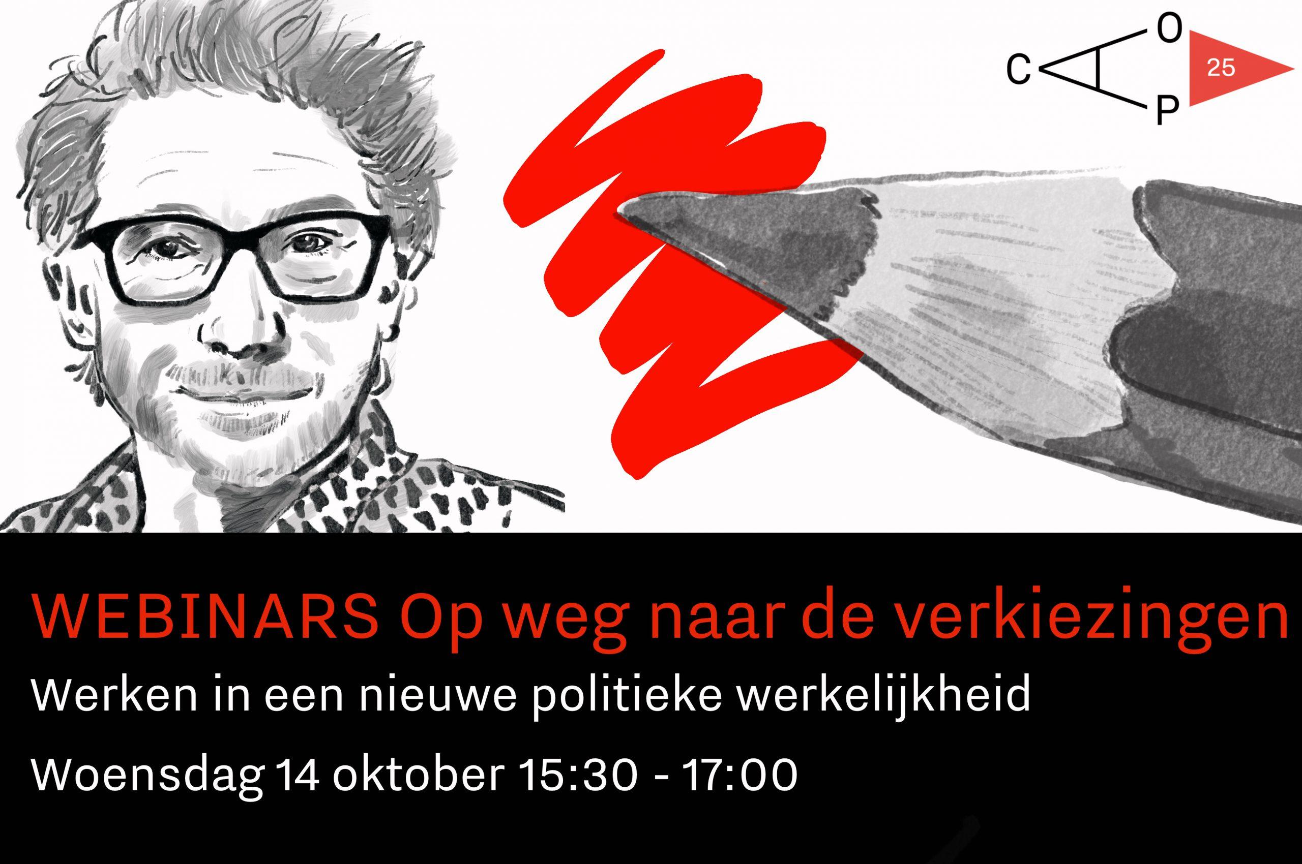 Frénk van der Linden is de presentator van de webinarreeks Op weg naar de verkiezingen: werken in een nieuwe politieke werkelijkheid