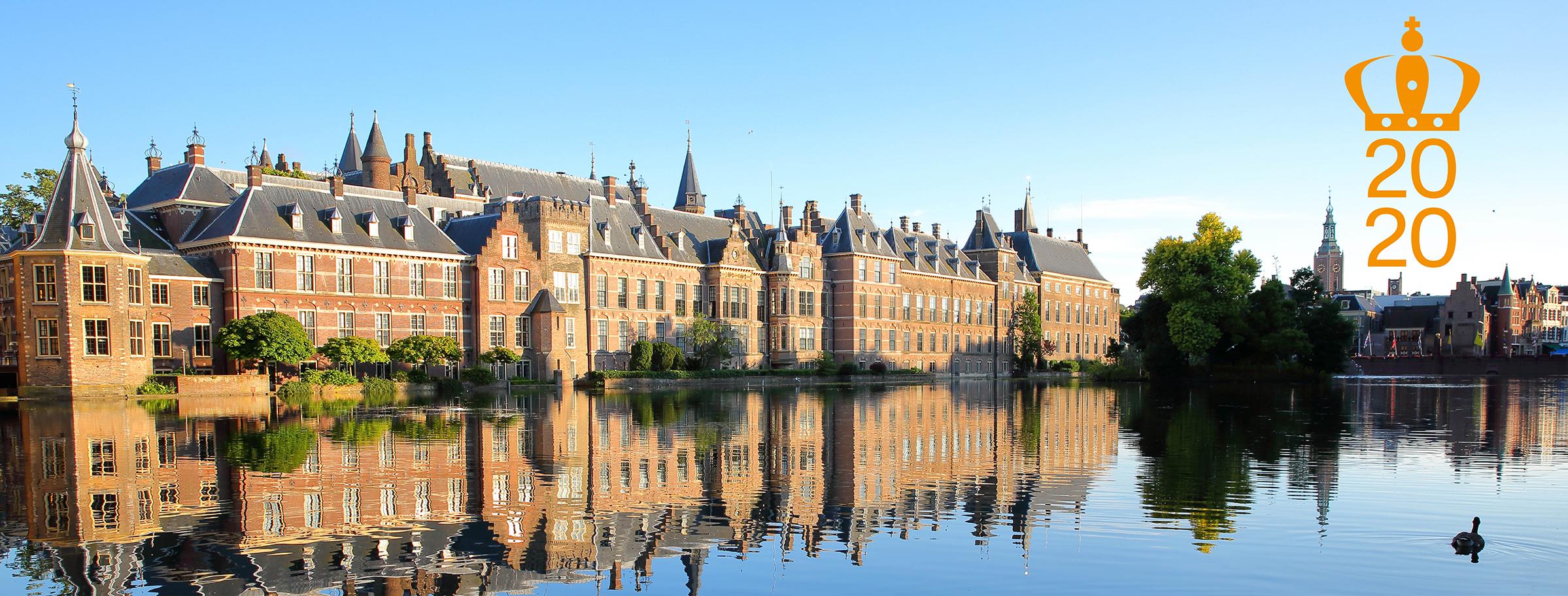 Binnenhof, Hofvijver en Grote Kerk Den Haag